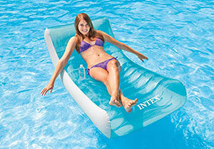 intex matelas gonflable piscine