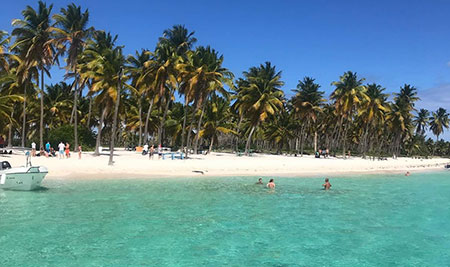 saona republique dominicaine plage