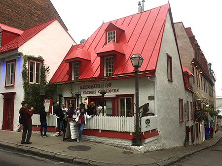 restaurant anciens canadiens