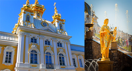 palais or peterhof