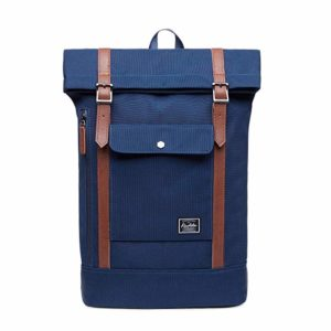 sac bleu roll top
