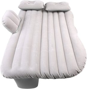 Matelas voiture gonflabe gris